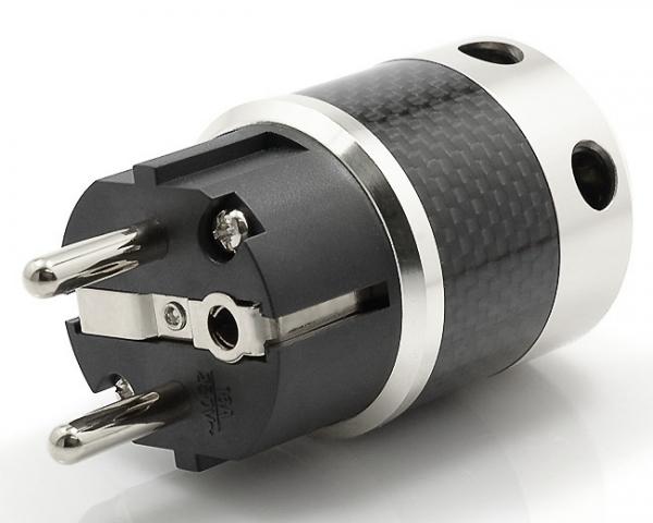 Alle nye W&M Audio SK-01 CR Schuko Stik - Strøm - Hificable ApS OP93